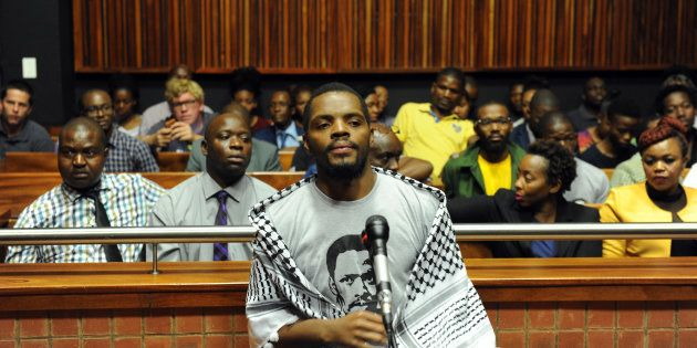 Student activist and former Wits University SRC president Mcebo