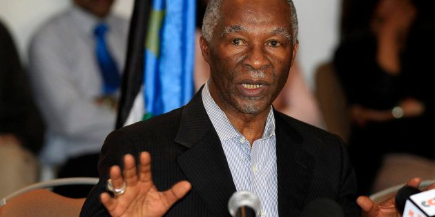 Former South African president Thabo