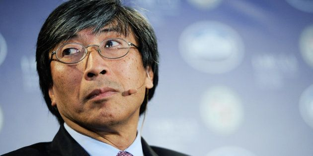 CEO of Abraxis Health Institute Patrick Soon-Shiong. March 22, 2012, in Los Angeles,