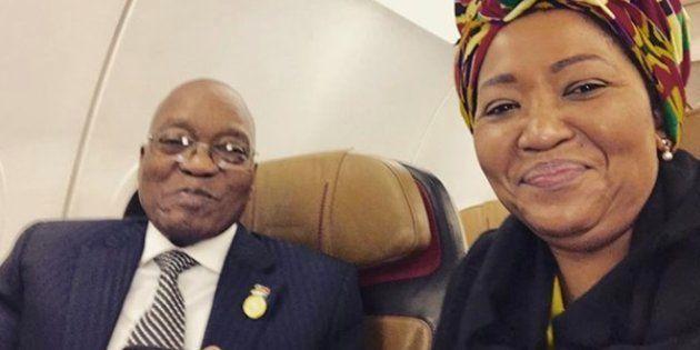President Jacob Zuma and his wife Thobeka Madiba