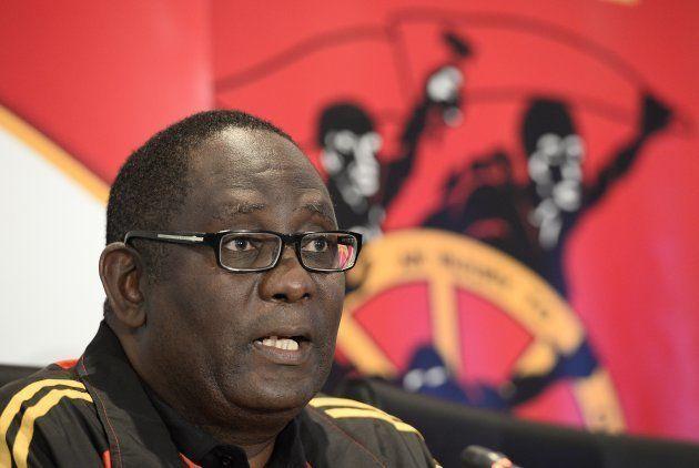 The general secretary of the Congress of South African Trade Unions (COSATU), Zwelinzima
