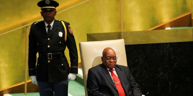 President Zuma at the United Nations recently. Zuma feels his work on the international stage is not...