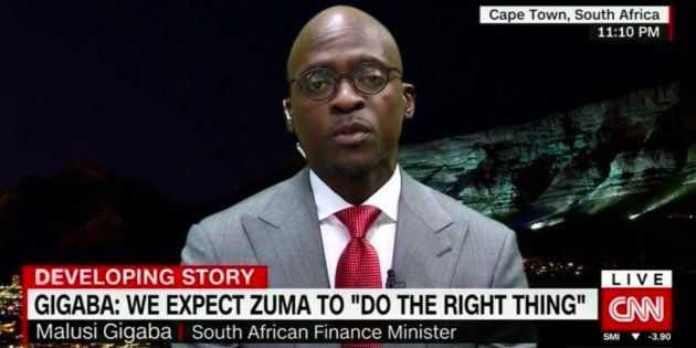 Gigaba: Parliament Will Remove Zuma If He Does Not