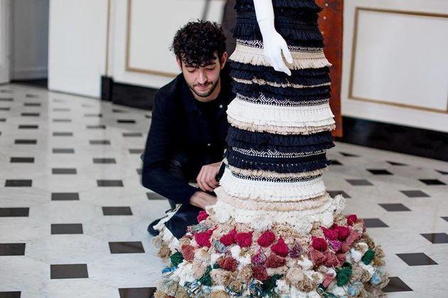 Karim Adduchi explore ses racines marocaines pour sa première participation à la Fashion Week
