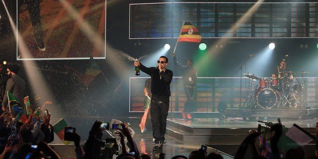French Montana performs at the MTV Africa Music Awards on June 7, 2014 in Durban, South Africa. The awards...