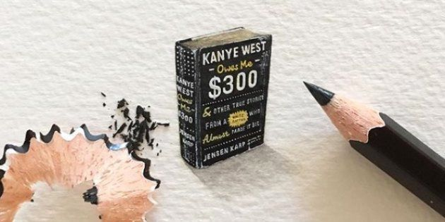 Read These 6 Classic Books Painted By SA's Famous Miniature