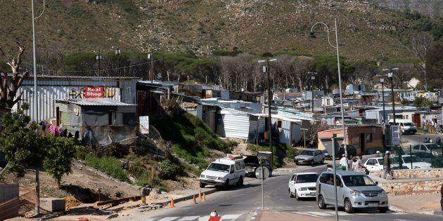 Imizamo Yethu Township Western Cape South Africa a General View of the Imizamo Yethu Township at Hout...