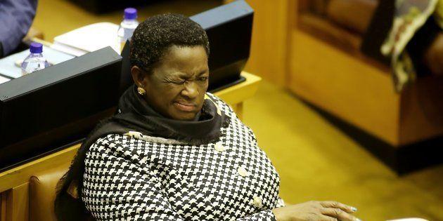 Social Development Minister Bathabile