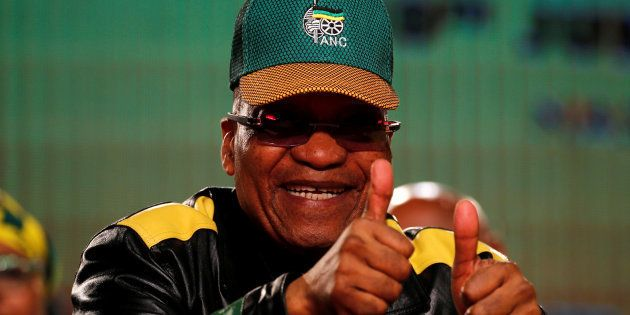 President Jacob Zuma ahead of this year's ANC policy