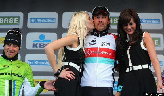 Peter Sagan Photo: Cyclist Criticised In 2013 For Pinching Woman's Bottom On