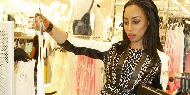 You too can ball, even if you don't have Khanyi Mbau's