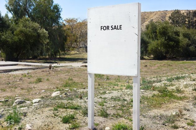 Land for sale in a rural