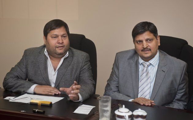 Indian businessmen, Ajay Gupta and younger brother Atul