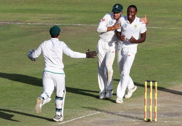 Cricket - South Africa vs Australia - Second Test - St George's Park, Port Elizabeth - March 11, 2018....
