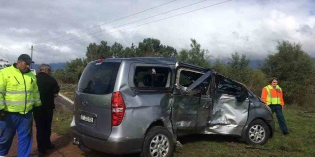 The car involved in the crash that claimed the life of an ANC
