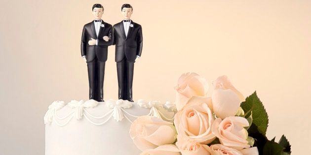 Wedding cake topper and