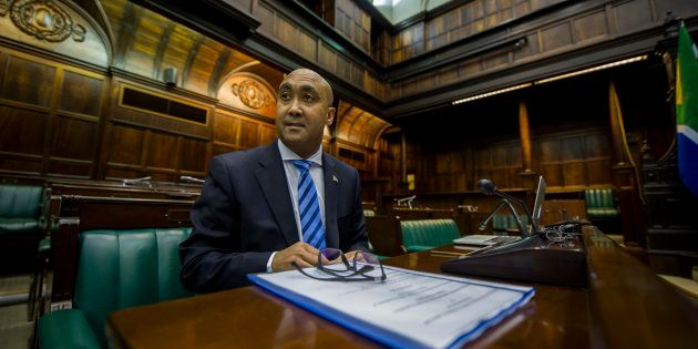The National Prosecuting Authority (NPA) boss advocate Shaun Abrahams during his appearance before The...