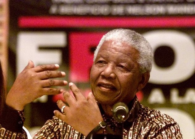 Former South African president Nelson Mandela. Reuters Photographer /