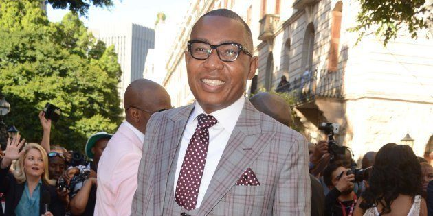 Mduduzi Manana during the 2017 State of the Nation Address (SONA) and the opening of Parliament on February...