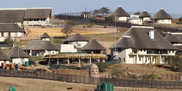 Jacob Zuma's Nkandla home. August 2,