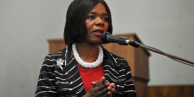 Former South African Public Protector; Advocate Thuli