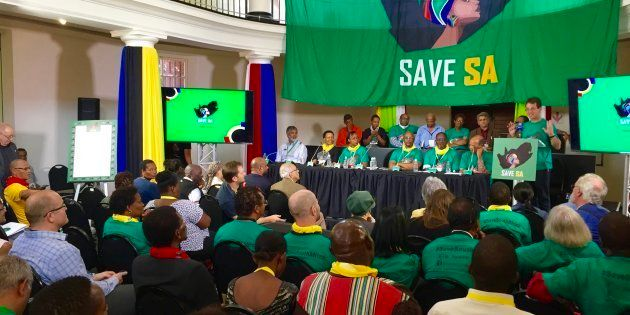 The launch of the Save South Africa campaign's