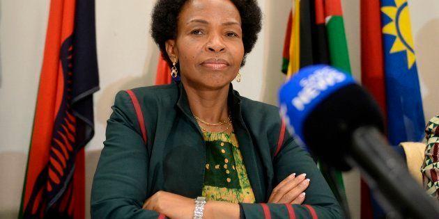 Minister of Rural Development and Land Reform Maite