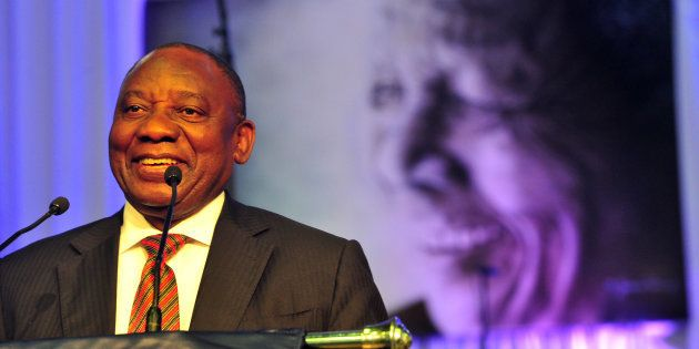 Deputy President Cyril Ramaphosa. His application to prevent details of alleged affairs was struck down...