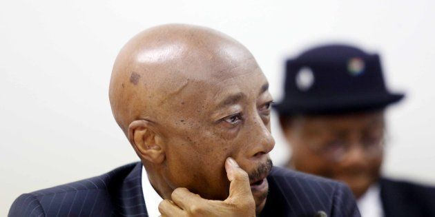 Then-Sars commissioner Tom Moyane during his appearance before Parliament's finance committee on November...