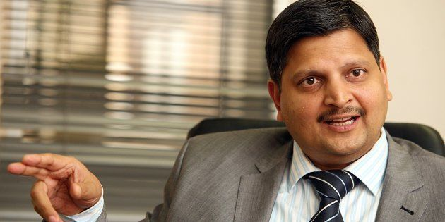 Billionaire businessman and newspaper publisher Atul Gupta at the New Age offices in Midrand.Photo by...