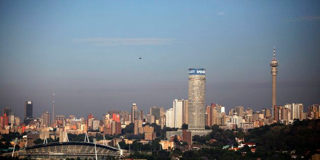 A view of the city of Johannesburg, which is heavily in debt, according to its mayor Herman