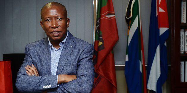 Julius Malema. Photo: Mduduzi Ndzingi/Sowetan/Gallo Images/Getty