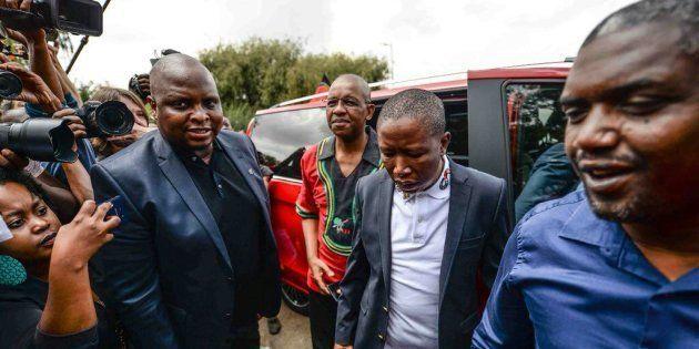 Outside Winnie Madikizela-Mandela's Home - An