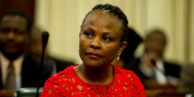 Public Protector Busisiwe Mkhwebane has defended the complaint she lodged with the police over the leaking...