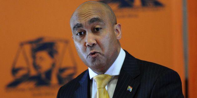 National Prosecuting Authority boss Shaun