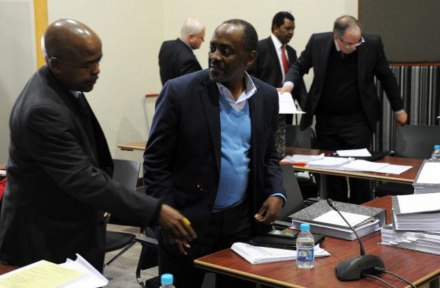 Advocate Menzi Simelane during his disciplinary inquiry on July 14, 2015 in Johannesburg, South Africa....
