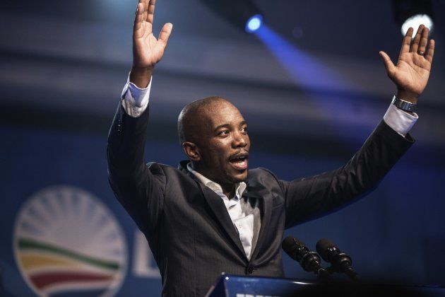 Mmusi Maimane was elected DA leader at the party's congress in Port Elizabeth on May 10,