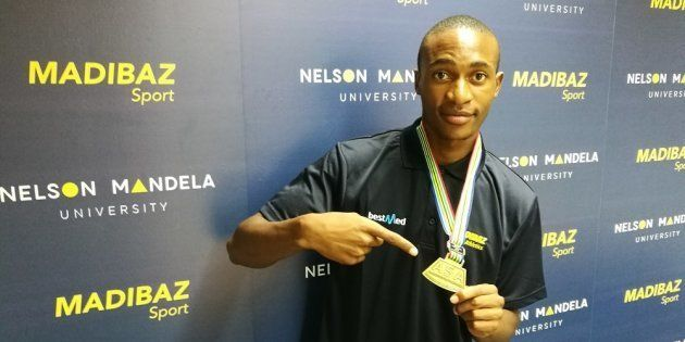 Usain Bolt Inspired Madibaz Sprint Star Luxolo