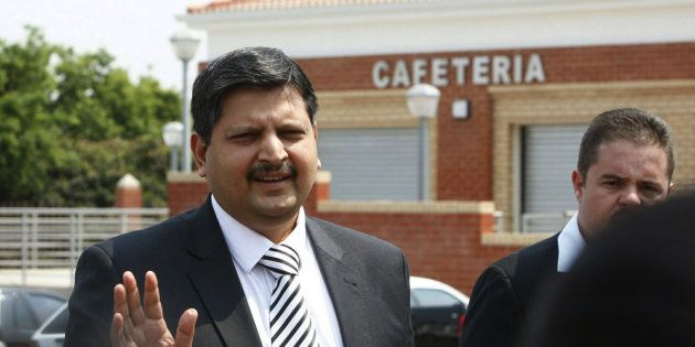Atul Gupta attends the Randburg Magistrate's court on September 27, 2010 in
