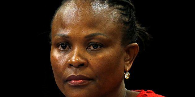 Public Protector Busisiwe Mkhwebane. REUTERS/Mike