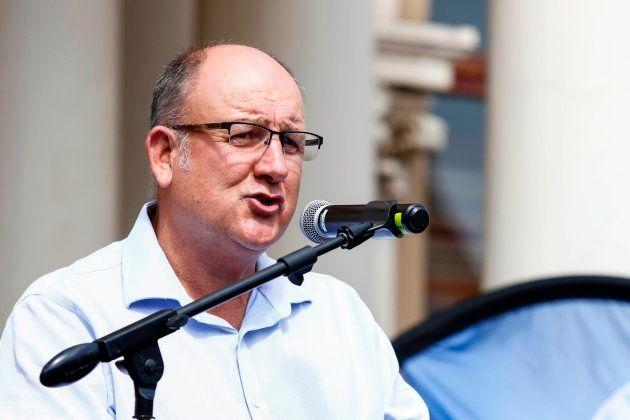 DA Port Elizabeth mayor Athol Trollip. (Photo credit: MICHAEL SHEEHAN/AFP/Getty