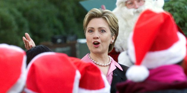 Hillary Clinton Christmas.What Is Santa Bringing Yassin Bey Hillary Clinton This