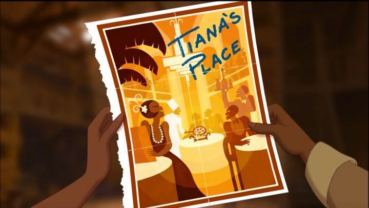 Tiana dreams of a swanky restaurant, and you'll dream of her classy dining area.
