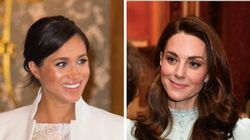 Meghan Markle, Kate Middleton Wow In Very Different Looks At Palace