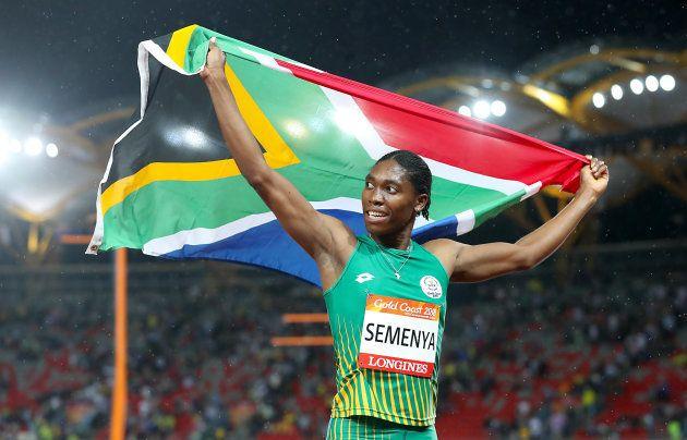 Caster 'Golden' Semenya Makes History At