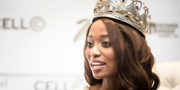 Miss SA Ntandoyenkosi Kunene, a teacher by profession, was there to represent at Miss World