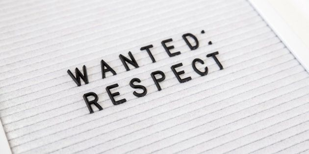 Self-Respect Is Imperative If You Want Others To Respect
