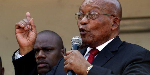 Jacob Zuma, former president of South Africa. April 6,