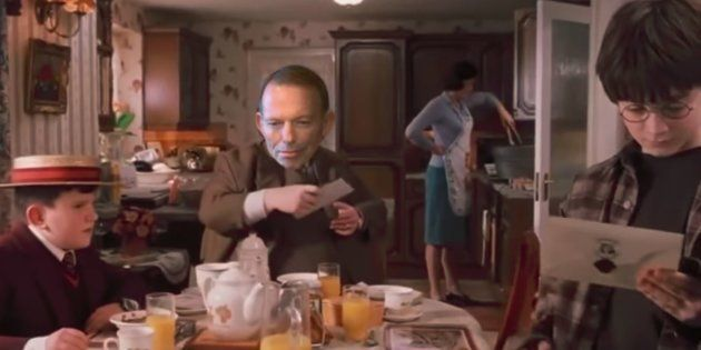 This Harry Potter Parody Features Tony Abbott And The Postal