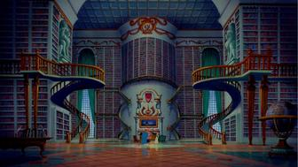 "Beasts shows Belle is library in ""Beauty and the Beast"""